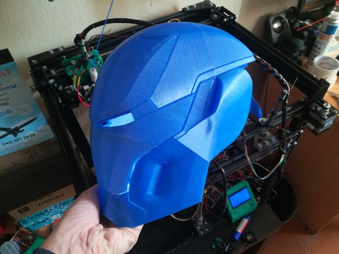 Iron Man Mark 50 Infinity War helmet 3D Print 27609