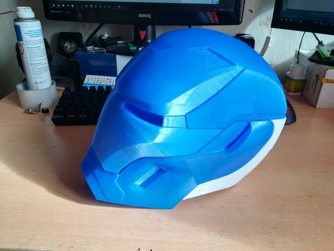 Iron Man Mark 50 Infinity War helmet 3D Print 27610