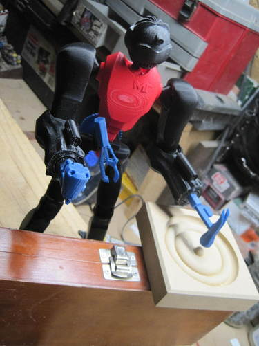 DRILL MASTER Carpenter Robot 3D Print 2765