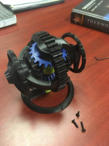 Spherical Differential 3D Print 27655
