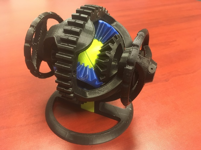 Spherical Differential 3D Print 27658