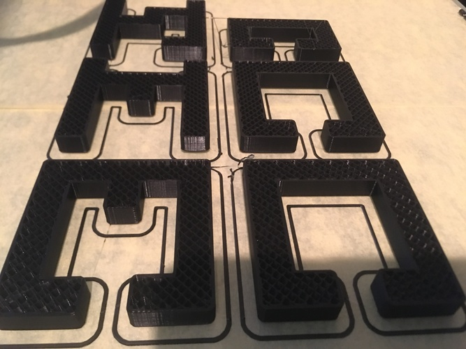 Printable Interlocking Puzzle #4 - Level 11 by richgain 3D Print 27681