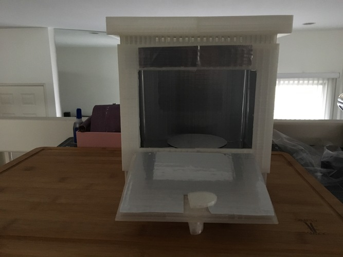 Cure chamber for Resin prints 3D Print 27736