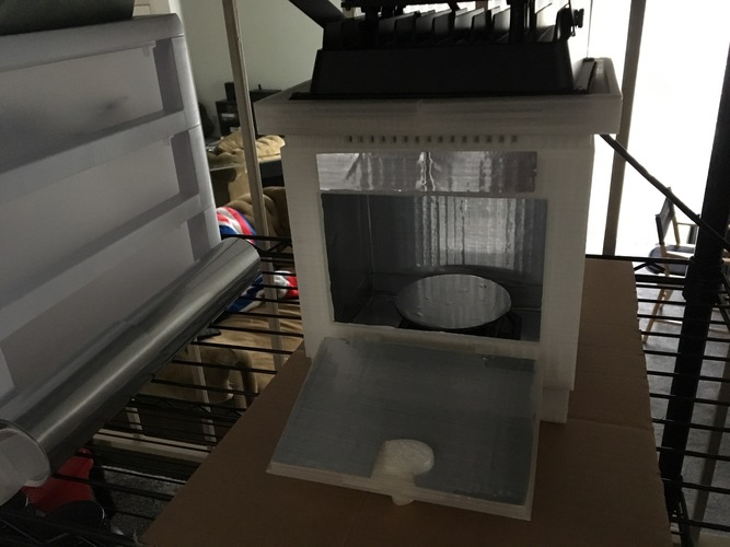 Cure chamber for Resin prints 3D Print 27739