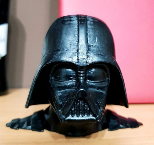 Darth Vader bust - Easy print 3D Print 27816