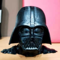 Small Darth Vader bust - Easy print 3D Printing 27816