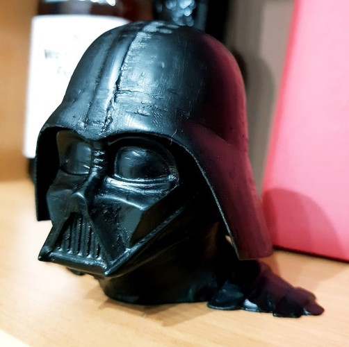 Darth Vader bust - Easy print 3D Print 27817