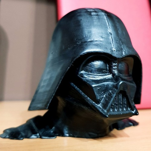 Darth Vader bust - Easy print 3D Print 27818