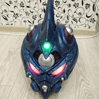 Small Guyver - Dark hero Helmet  3D Printing 27855