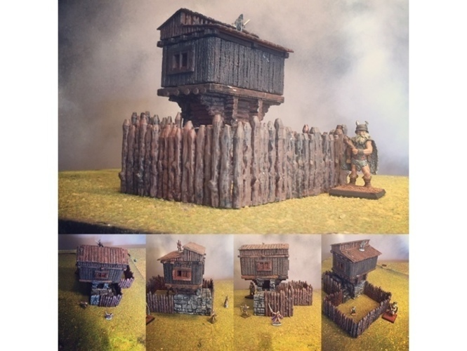 Promotional Hunting Lodge PartI 3D Print 27866