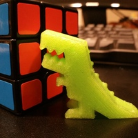 Small Robber Rex 3D Printing 2789