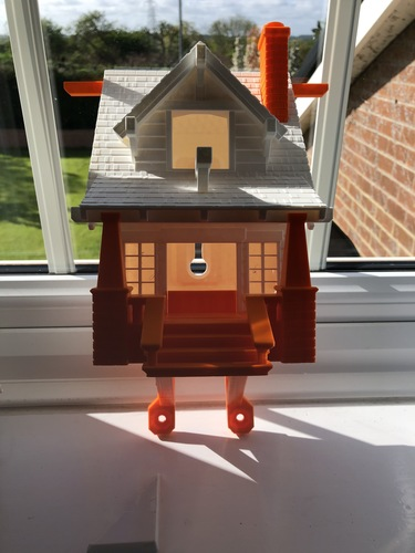 the American Craftsman Bungalow Birdhouse 3D Print 27932
