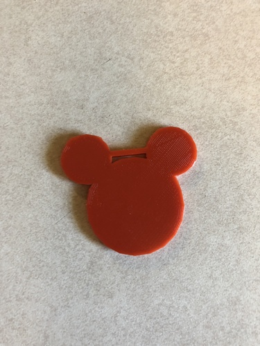 mouse luggage tag 3D Print 27974