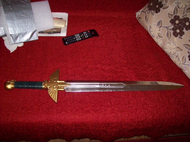 Warhammer 40K - Inquisitor Sword 3D Print 28022