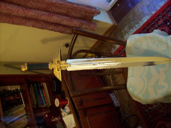 Warhammer 40K - Inquisitor Sword 3D Print 28023