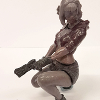 Small VIA The Gamer Girl 3D Printing 28042