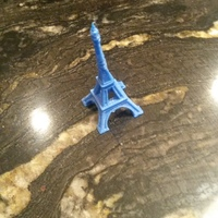 Small The Eiffel Tower Miniature 3D Printing 2808