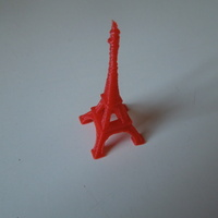 Small The Eiffel Tower Miniature 3D Printing 2812
