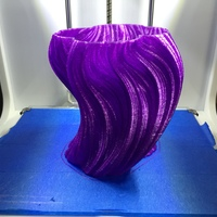 Small Julia Vase #004 - Bloom 3D Printing 282