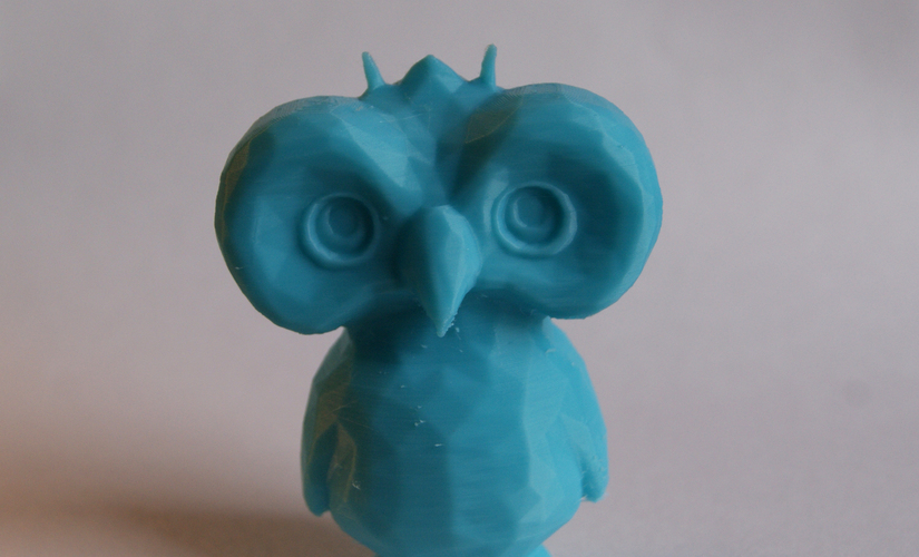 Low Poly Owl Dude 3D Print 2827