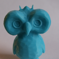 Small Low Poly Owl Dude 3D Printing 2827