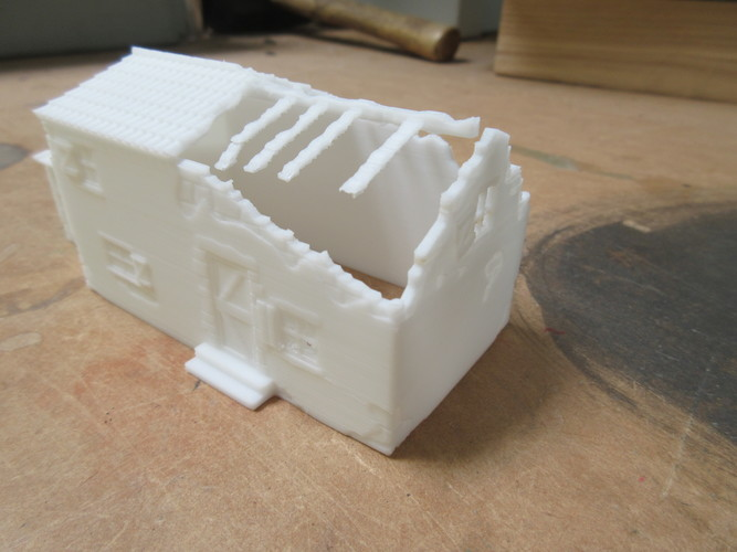 Ruined Mediterranean style House 3D Print 28291