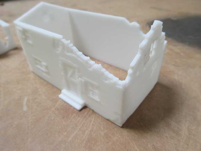 Ruined Mediterranean style House 3D Print 28295