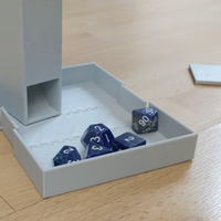 Small Dice Tower and Dice Box 3D Printing 28328