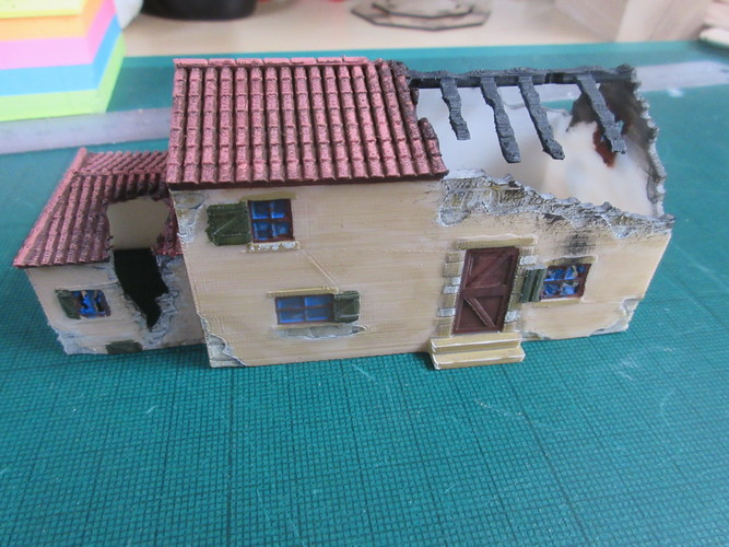 Ruined Mediterranean style House 3D Print 28336