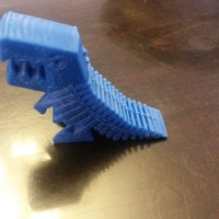 Small Flexy Rex 3D Printing 2834