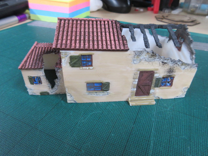 Ruined Mediterranean style House 3D Print 28340