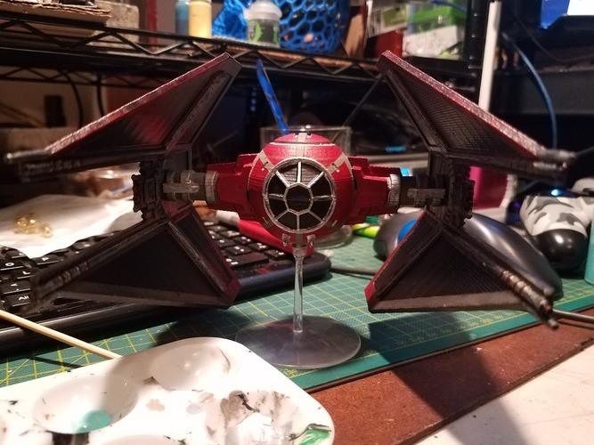 Star Wars Legion Terrain - DWG TIE Interceptor 3D Print 28434