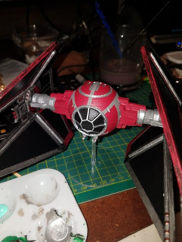 Star Wars Legion Terrain - DWG TIE Interceptor 3D Print 28435