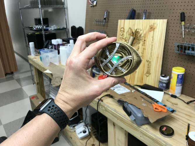 Eye of Agamotto - Doctor Strange (with Opening Eye) 3D Print 28519