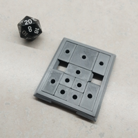 Small Sliding Block Puzzle 3D Printing 28523