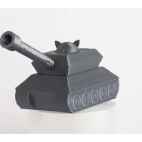 Small Cat in a tank 3D Printing 28534