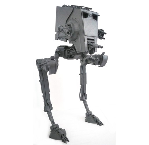 Star Wars ATST Walker - Ready to print - With instructions 3D Print 28552