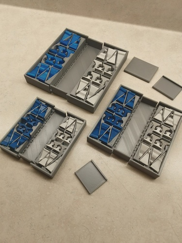Pocket Chess Set 3D Print 28564