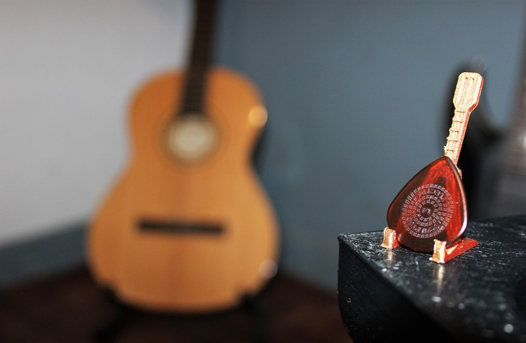 Small Guitar Pick Holder 3D Print 28678