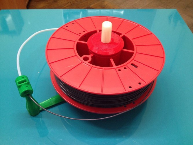 Universal stand-alone filament spool holder (Fully 3D-printable) 3D Print 2882