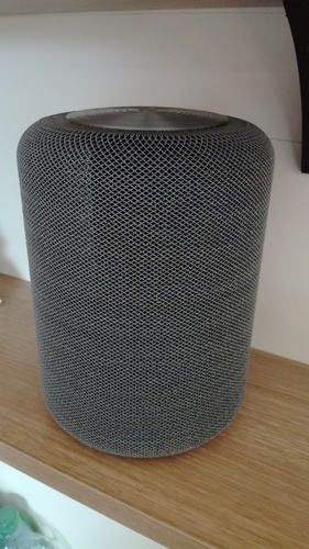 "Portable speaker enclosure type ""HomePod"" 3D Print 28911"