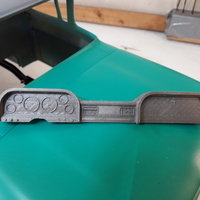 Small C63 Dash with tab 3D Printing 28915