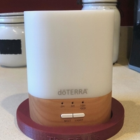 Small doTERRA 10 hour diffuser and 3 15ml bottle display 3D Printing 28959