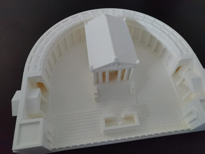 Carthage - Temple of Caelestis (Restitution) - 222 BC 3D Print 29050