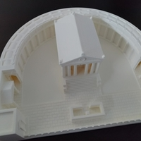 Small Carthage - Temple of Caelestis (Restitution) - 222 BC 3D Printing 29050