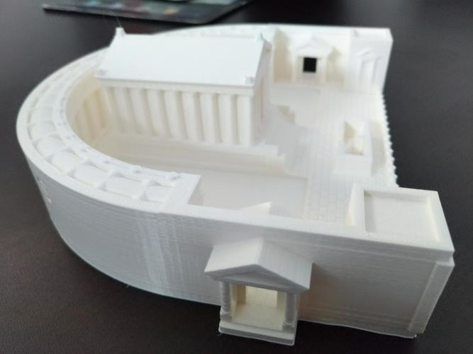 Carthage - Temple of Caelestis (Restitution) - 222 BC 3D Print 29051