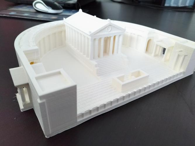 Carthage - Temple of Caelestis (Restitution) - 222 BC 3D Print 29052