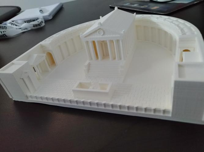 Carthage - Temple of Caelestis (Restitution) - 222 BC 3D Print 29053