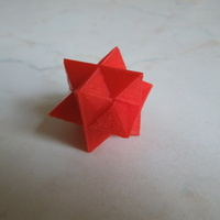 Small Star 6 Puzzle 3D Printing 2912