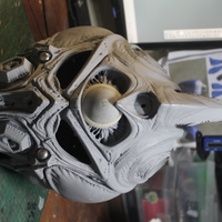 Small Guyver - Dark hero Helmet  3D Printing 29141